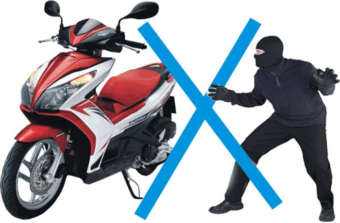 Mất trộm xe máy - nỗi lo sợ của nhiều chủ xe trong thời đại ngày nay